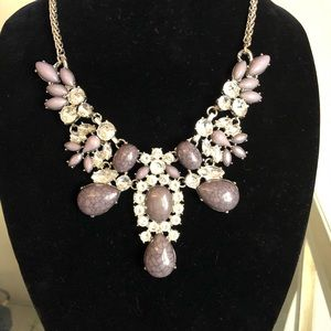 Shades Of Grey Statement Necklace